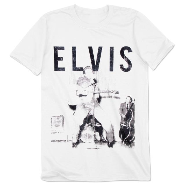 Elvis Presley With the Band T-Shirt