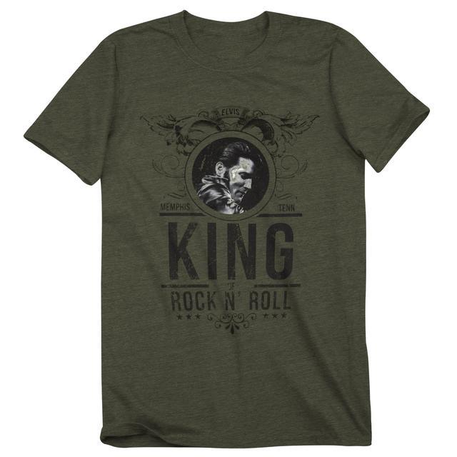 Elvis King of Rock 'n' Roll T-Shirt