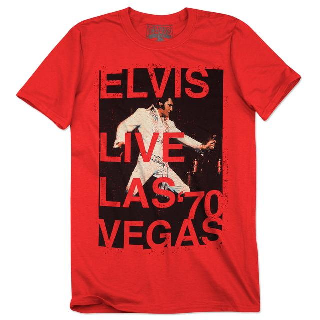 Elvis Live Las Vegas '70 T-Shirt