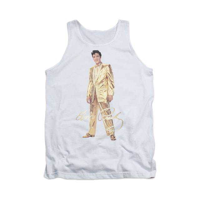 Elvis Gold Lame Suit Women'S Tank Top