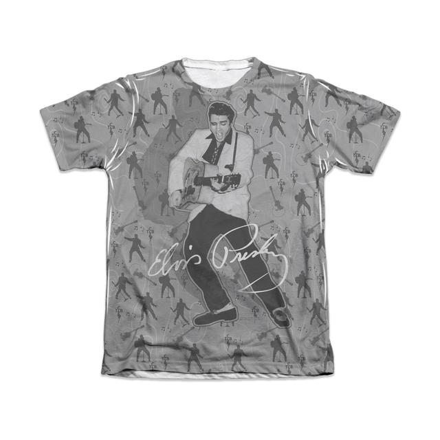 Elvis Rockin All Over T-Shirt