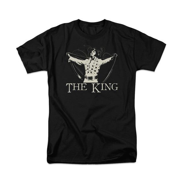 Elvis Ornate King T-Shirt