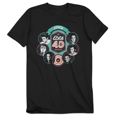 Elvis 2017 40th Anniversary Circle T-shirt