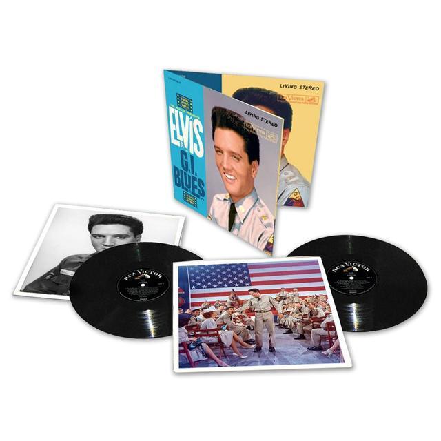 Elvis Presley: GI Blues Special Limited Edition FTD LP (Vinyl)