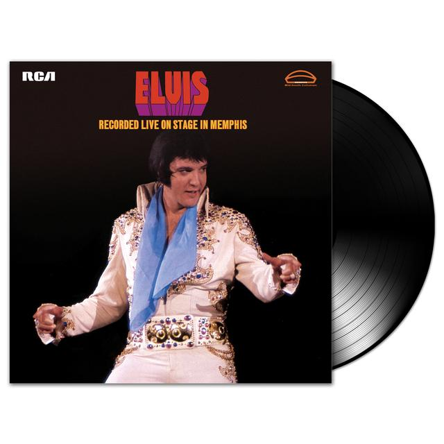 Elvis Recorded Live On Stage In Memphis FTD LP (Vinyl)