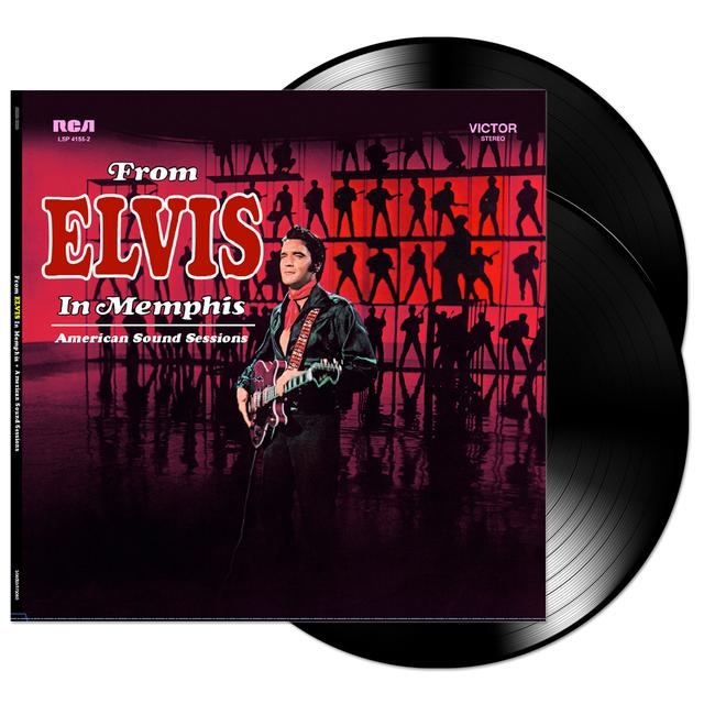 From Elvis in Memphis FTD LP (Vinyl)