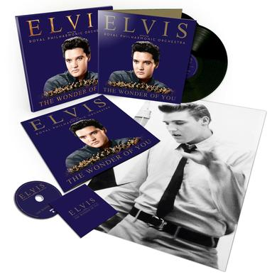 The Wonder of You: Elvis With The Royal Philharmonic Orchestra (Deluxe Edition) CD/2-LP (Vinyl)