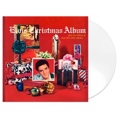 Limited Edition Elvis' Christmas Album 180 Gram Audiophile White Vinyl