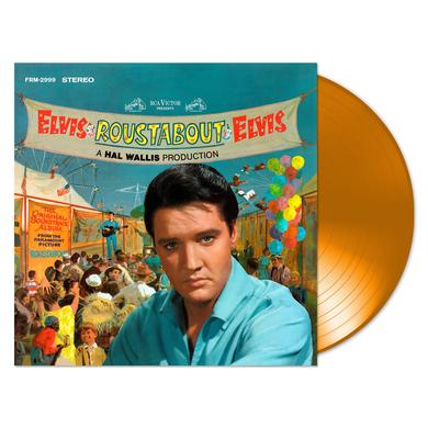 Elvis Presley Special Anniversary Edition Roustabout 180 Gram Audiophile Translucent Orange Vinyl