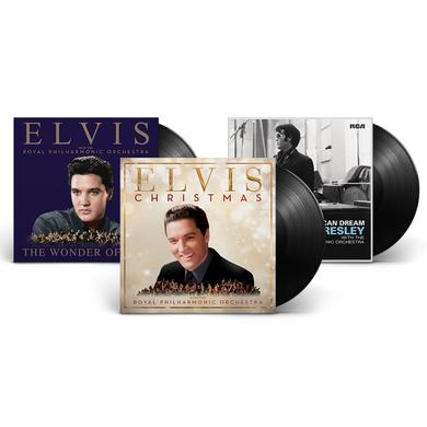 Elvis with The Royal Philharmonic Orchestra Complete LP Set (Vinyl)