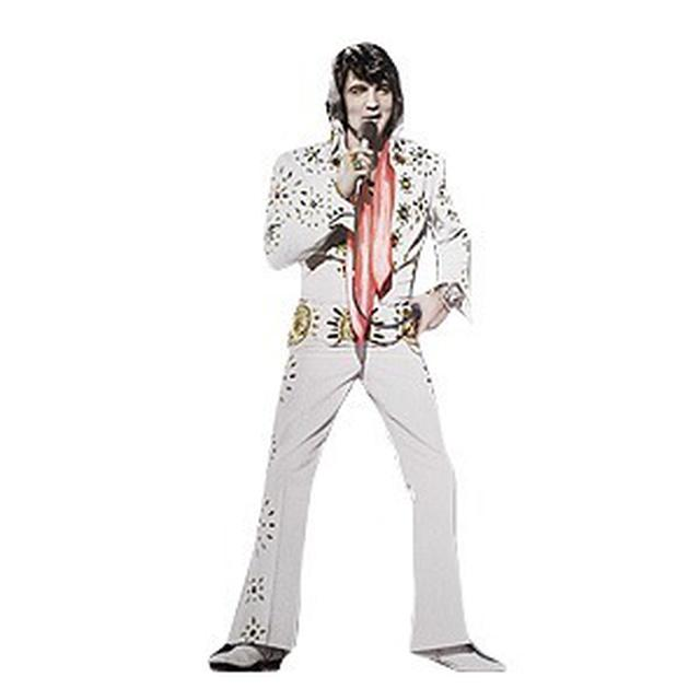 Elvis Nomad Wall Sticker - 70's in Concert