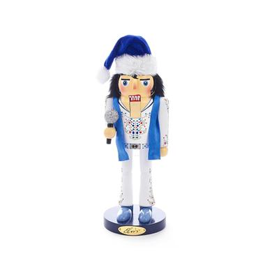 Elvis Presley King of Spades Nutcracker