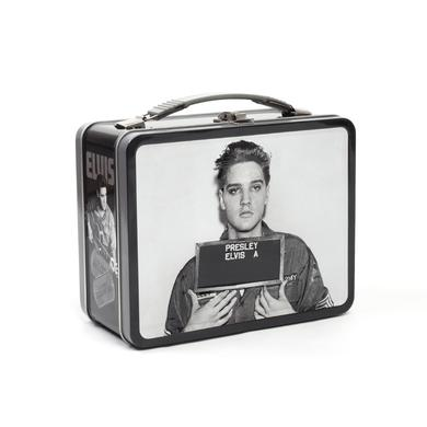 Elvis Presley US Army Enlistment Photo Tin Box