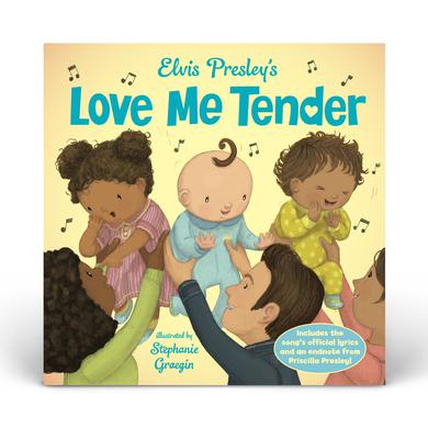 Elvis Presley Love Me Tender Book