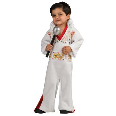 Elvis Infant White Jumpsuit