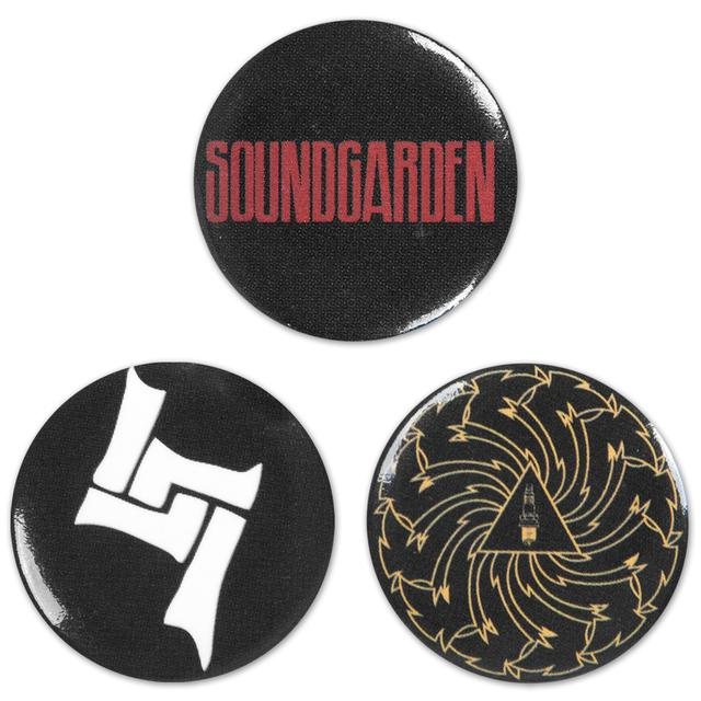 Soundgarden Mini-Button Set