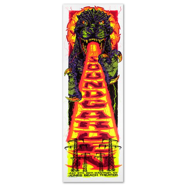 Soundgarden Godzilla Poster