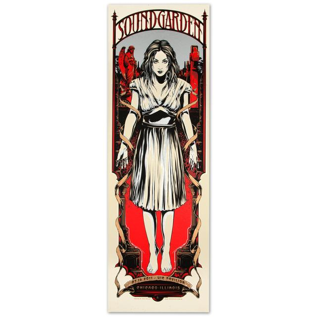 Soundgarden UIC Pavilion Poster