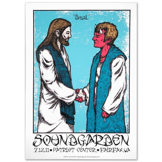 Soundgarden 'Deal' Print