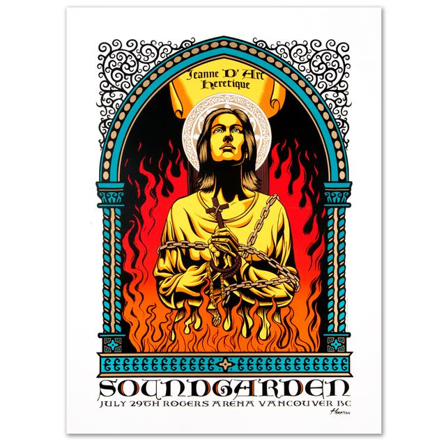 Soundgarden Jeanne D' Arc Print