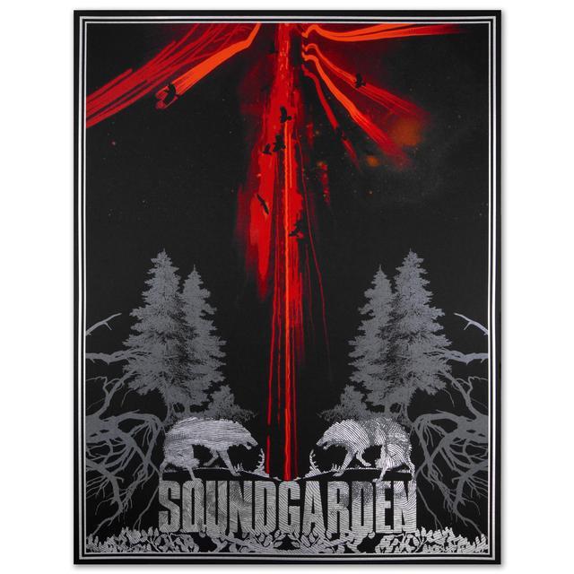 Soundgarden Wolves Print