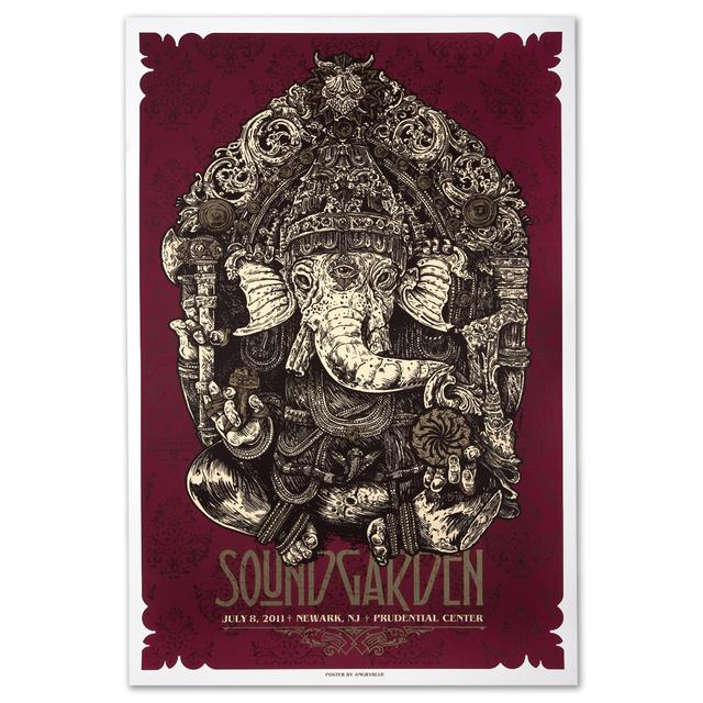 Soundgarden Newark NJ Print