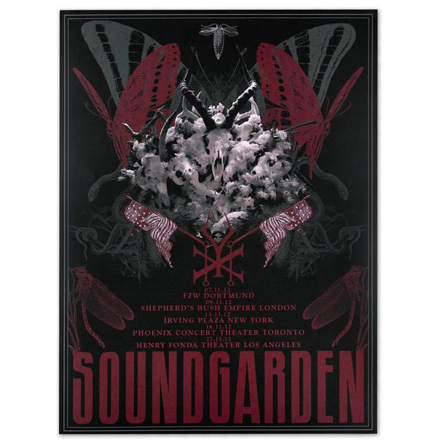 Soundgarden King Animal Show Print