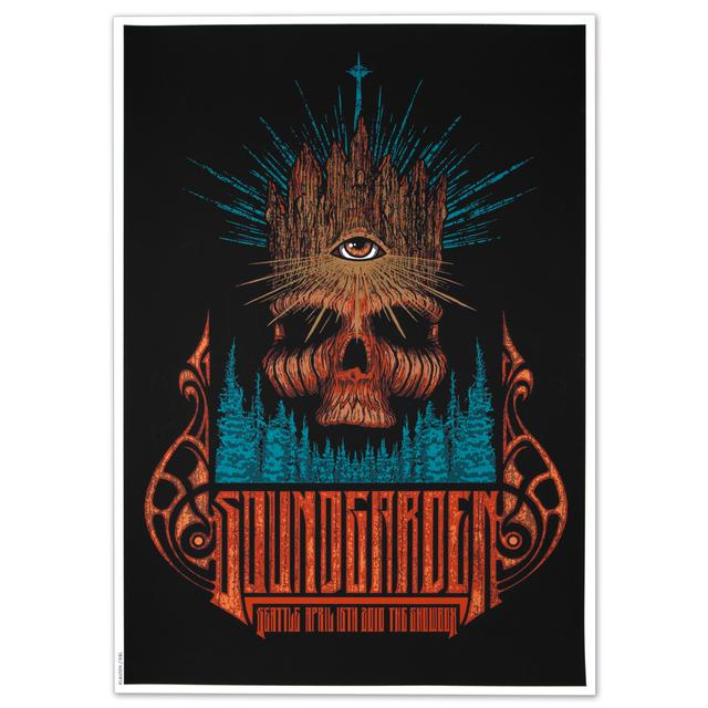 Soundgarden Showbox Seattle 4/16/10 Print