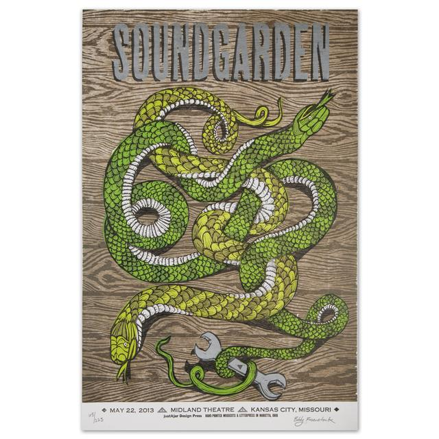Soundgarden May 22, 2013 Kansas City, MO Show Print