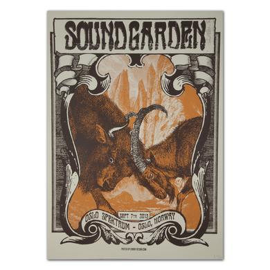 Soundgarden Oslo Spektrum-Oslo, Norway 9/7/2013 Print