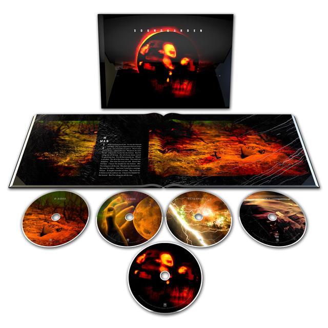 Soundgarden Superunknown Super Deluxe CD Set