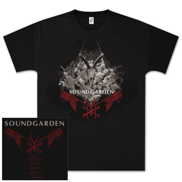 Soundgarden King Animal Red Flags T-Shirt