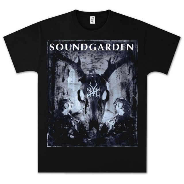 Soundgarden Smoke Skull T-Shirt