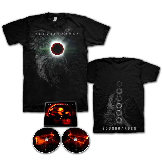 Soundgarden Superunknown Deluxe CD/T-Shirt Bundle