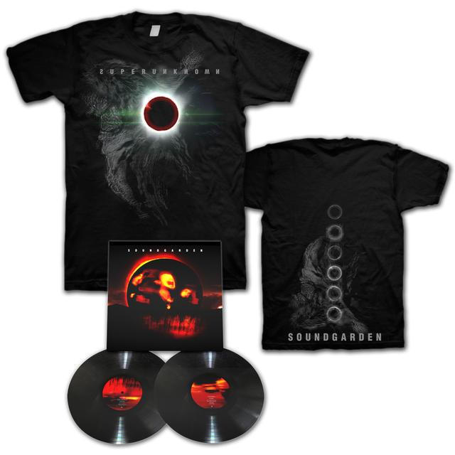 Soundgarden Superunknown 2LP Vinyl/T-Shirt Bundle