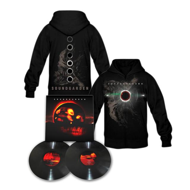 Soundgarden Superunknown 2LP Vinyl/Hoodie Bundle