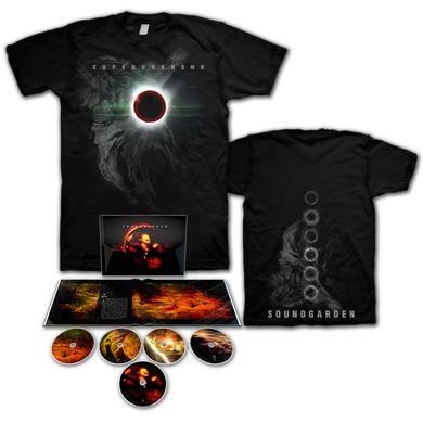 Soundgarden Superunknown Super Deluxe CD Set/T-Shirt Bundle
