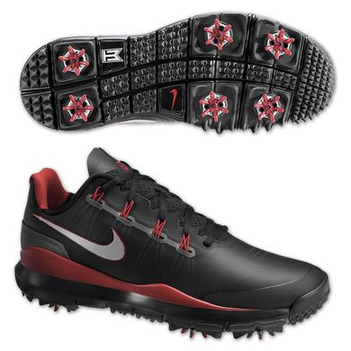 Tiger Woods 2014 Nike Golf Shoes: Black