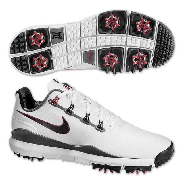 Tiger Woods 2014 Nike Golf Shoes: White