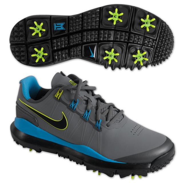 Tiger Woods 2014 Nike Golf Shoes: Grey