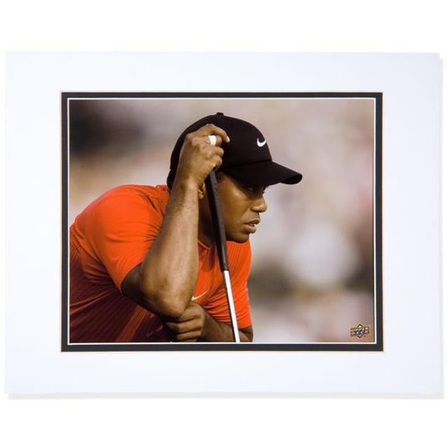 Tiger Woods 8x10 'Stare' Matted Photo