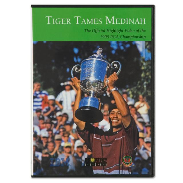 1999 PGA Championship DVD feat. Tiger Woods