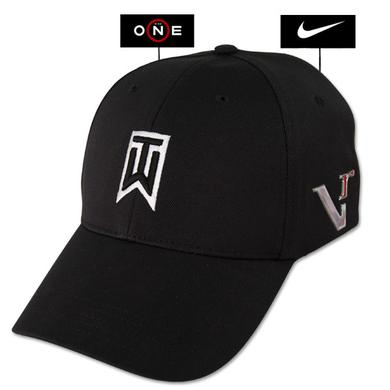 Tiger Woods TW VR-ONE FlexFit Swoosh Black Cap