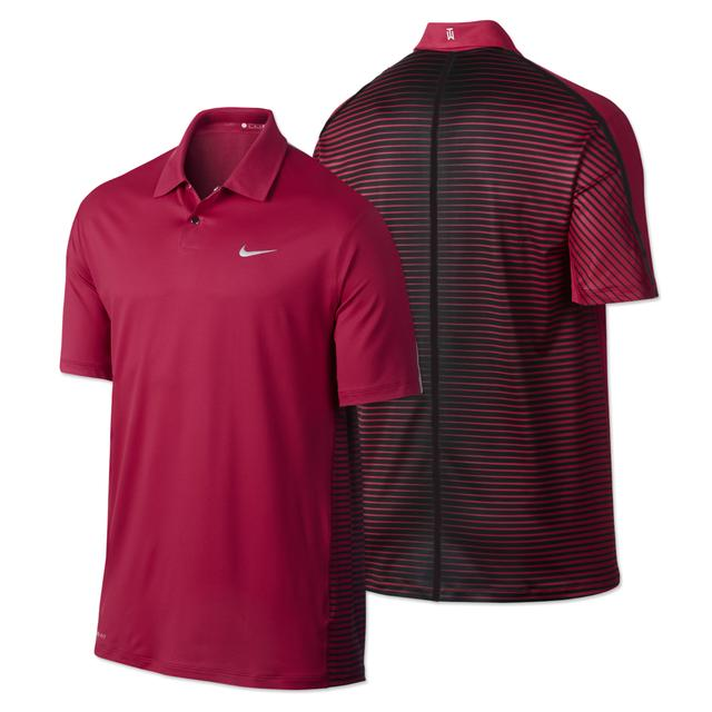 Tiger Woods TW Engineered Stripe Polo