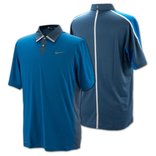 Tiger Woods TW Perforated Panel Polo