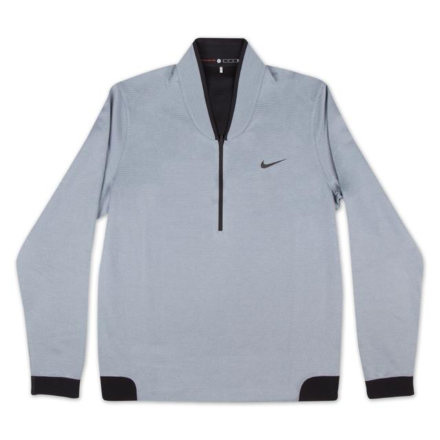 Tiger Woods 2015 Majors NIKE Cypress Shield Half-Zip