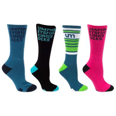 Umphrey's Mcgee UM Logo Socks and UmphreysfuckingSOCKS
