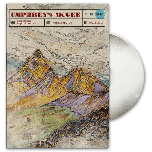 Umphrey's Mcgee Live at Red Rocks DVD/Blu-Ray