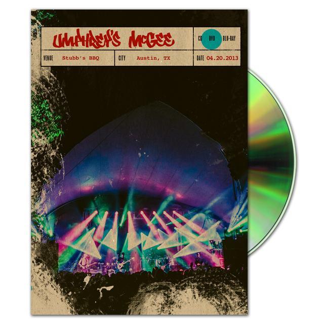 Umphrey's Mcgee Live at Stubb's 4/20/13 DVD/Blu-Ray
