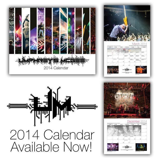 Umphrey's Mcgee UM 2014 Calendar